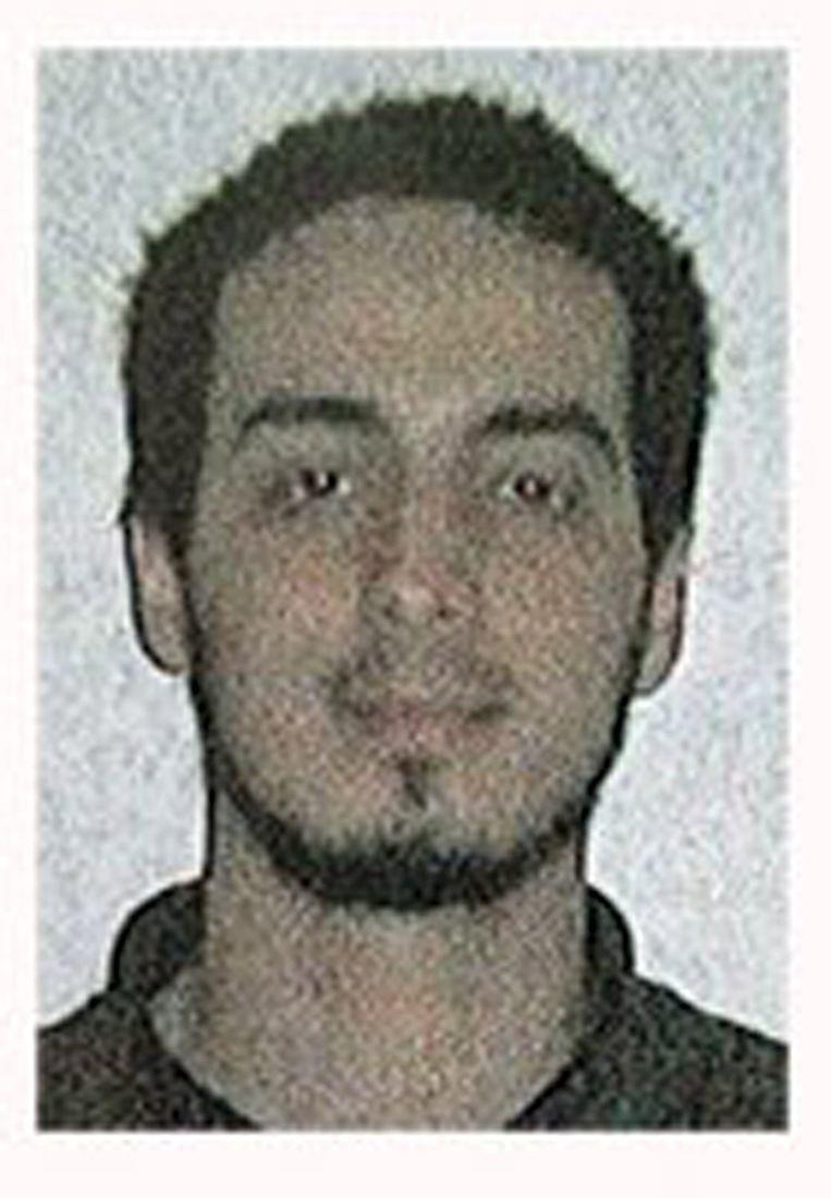 Een foto van de man die volgens de politie Najim Laachraoui is. Beeld REUTERS