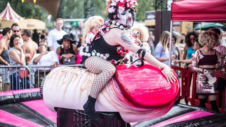 Het Milkshake Festival tijdens een voorgaande editie. Beeld Eva Plevier