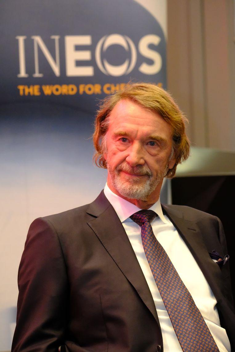 Ineos-baas Jim Ratcliffe is de rijkste Brit.