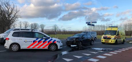 Ravage na botsing tussen drie auto's in Sint-Oedenrode