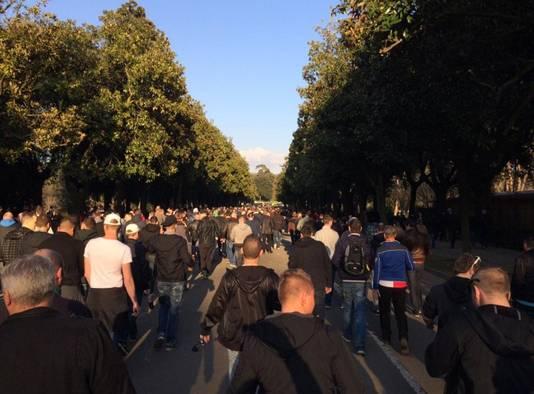 'Saamhorigheid ten top', aldus Feyenoord-fan Christiaan Sloof