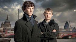"""Sherlock en Watson hebben ruzie, Benedict Cumberbatch haalt uit naar Martin Freeman: """"Zijn commentaar op onze fans is zwak"""""""