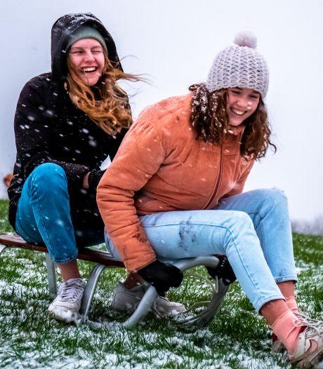 Nagenieten: zo genoot Utrecht gisteren van de sneeuw