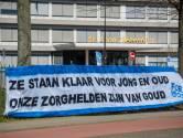 Vlaggen, muziek, alcoholvrij bier en veel dank voor Brabantse zorgmedewerkers op Dag van de Verpleging