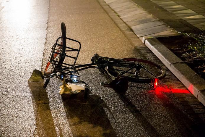 Ongeluk op de Ravelstraat in Bergen op Zoom