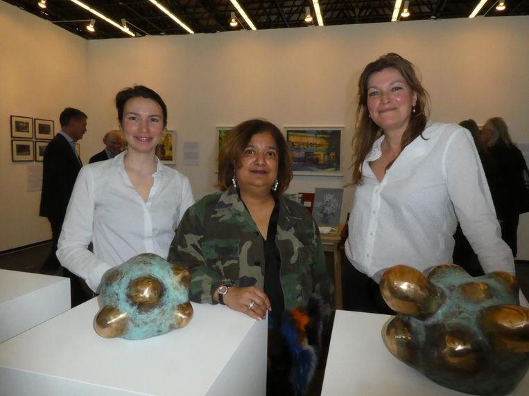 Michela Trovato Giancardillo, Sandra Chedi en Nandine van Karnebeek, van WOW. Chedi: 'WOW betekent World Of West. Een heel coole plek' Beeld Schuim