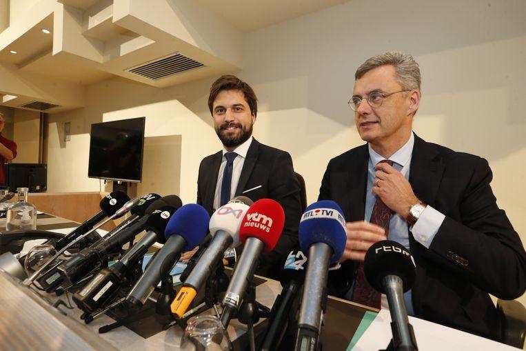 Georges-Louis Bouchez (MR) en Joachim Coens (CD&V)