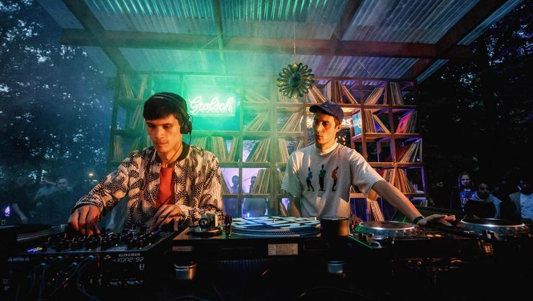 Onvoorspelbaarheid is het handelsmerk van het Berlijnse duo Objekt & Call Super. Op Dekmantel waren ze volledig op hun plek Beeld Bart Heemskerk