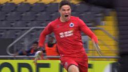 Doelman kopt U19 Club in slotminuut naar volgende ronde Youth League, broer Leander Dendoncker op intensieve