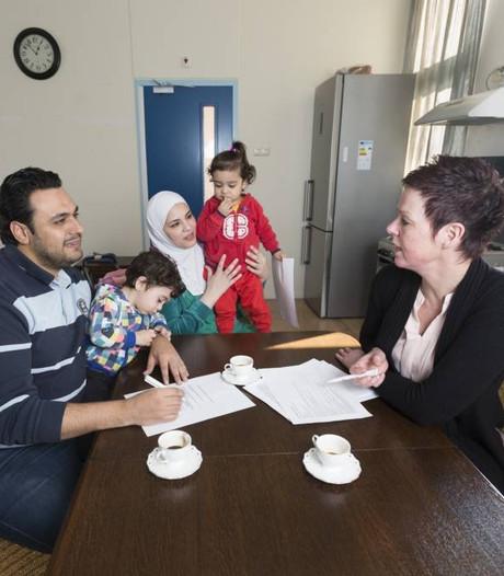 Syriërs goed ontvangen in Lobith