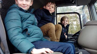 VBS Grotenberge wint praktijksessie over dode hoek