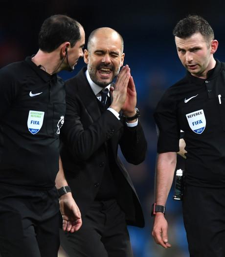 Engelse bond: Guardiola mag niets positiefs of negatiefs zeggen over arbiters