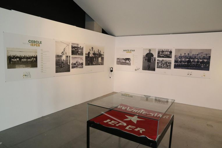 In CC Perron wordt de geschiedenis van het Ieperse voetbal tot 1980 getoond.