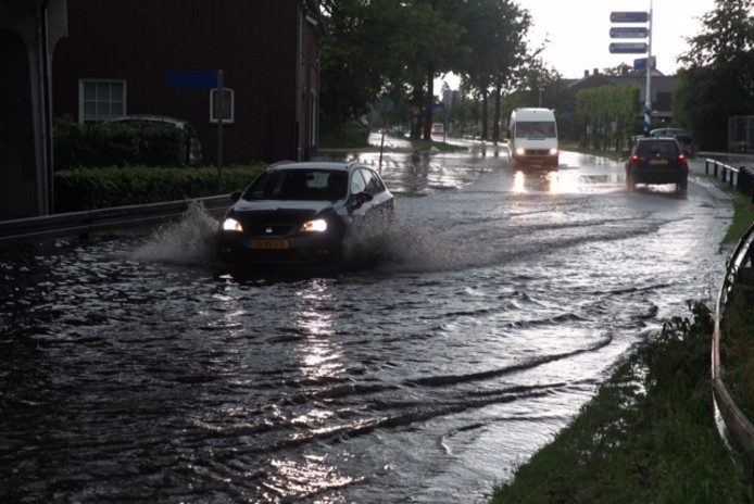 Wateroverlast Milheezerweg Deurne