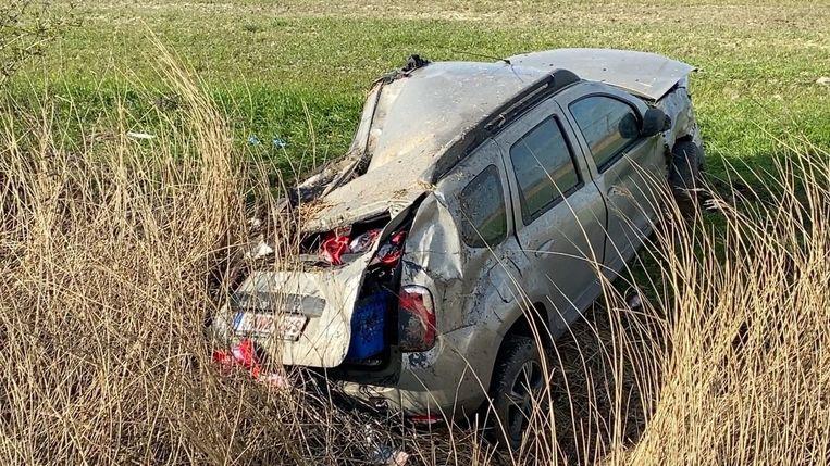 Ongeval A10 Oudenburg