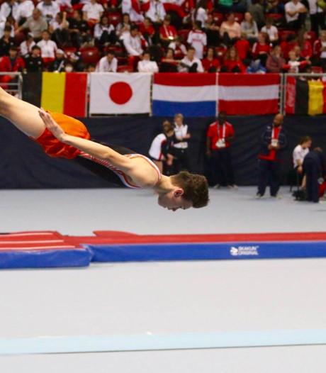 Zeeuwse trampolinespringer Nard Tieleman elfde op jeugd-WK in Tokio