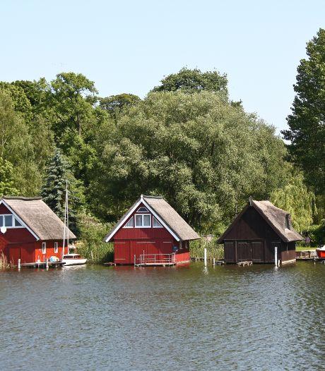 Een varend vakantiehuis in Duitsland