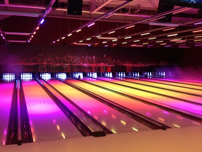 Impressie van de bowling zoals die ook in Uden komt te liggen.