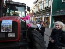 Irene van der Aart op de trekker naar de boekhandel: 'Dit is geen boerenprotest!'