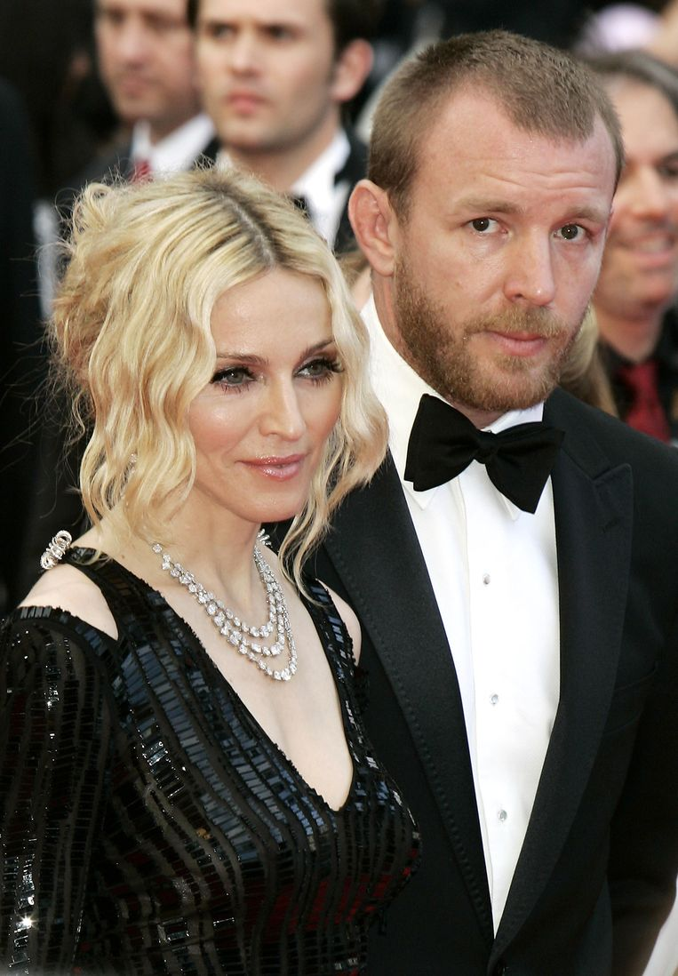 Madonna en de Engelse regisseur en producer Gut Ritchie