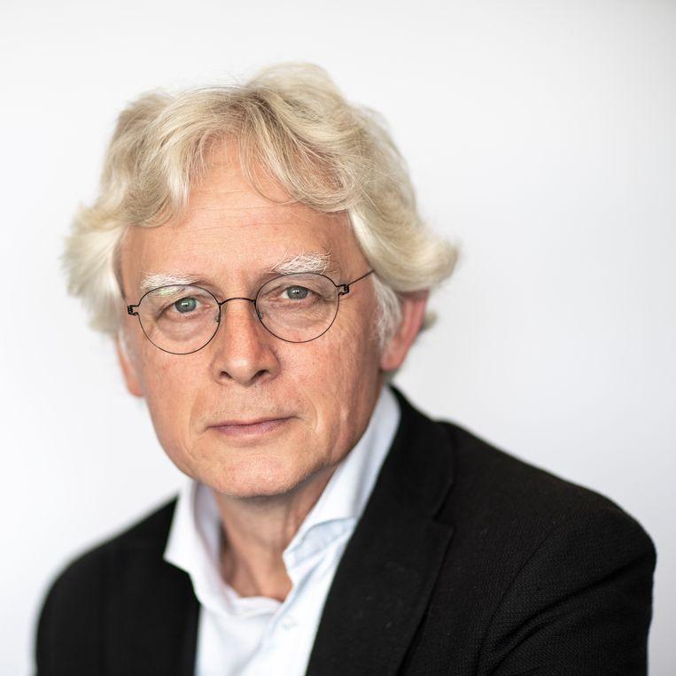 Klaas van Berkel, hoogleraar Geschiedenis na de Middeleeuwen  Beeld Harry Cock