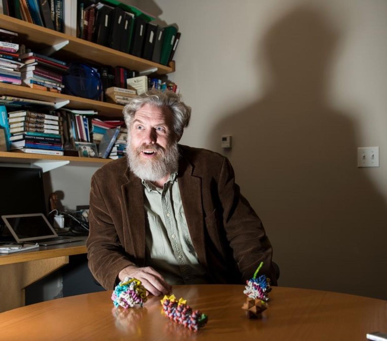 De Amerikaanse geneticus George Church. Beeld Getty