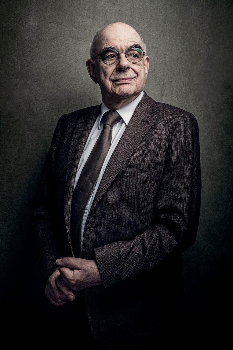 Oud-minister Jan Pronk 'Heel raar, ik heb een permament gevoel van dankbaarheid' Beeld Martin Dijkstra