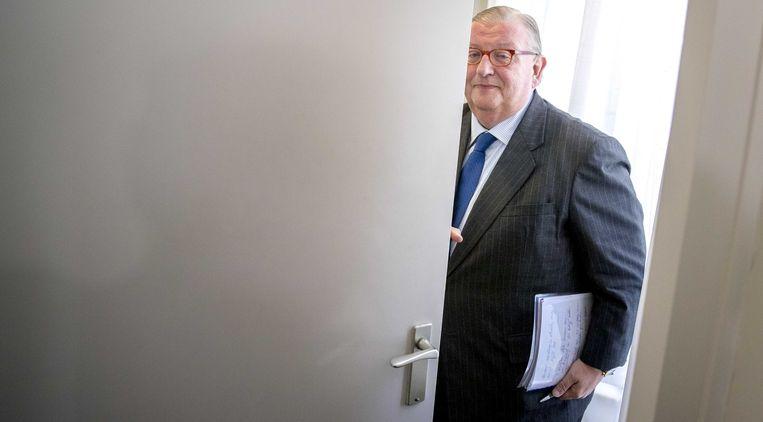 Voormalig VVD-voorzitter Henry Keizer. Beeld anp