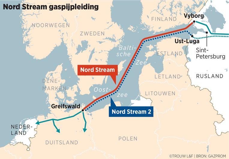 Gaspijpleiding Nord Stream. Beeld Louman & Friso