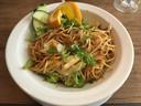Restaurant OM: Chinese noodles met eend.