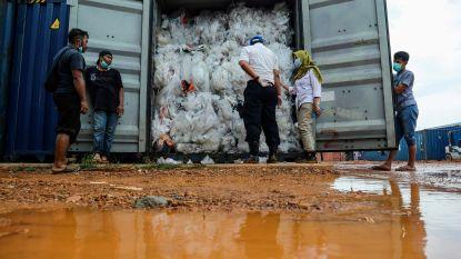 Indonesië stuurt containers met illegaal plastic afval terug naar industrielanden