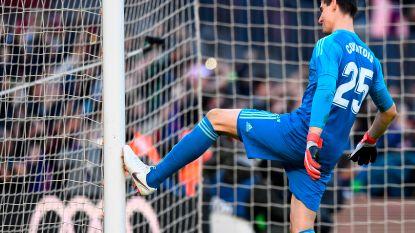 Nooit in zijn carrière stond Thibaut Courtois in een grotere schietkraam dan bij Real Madrid