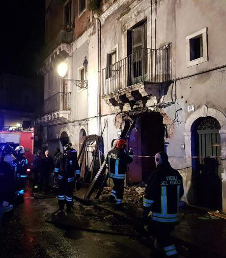Drie doden en twee gewonden bij explosie op Sicilië