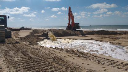 Extra zand ligt er bijna allemaal: strand van Bredene vanaf woensdag opnieuw volledig toegankelijk