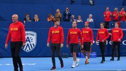 David Goffin leidt vijfkoppige Davis Cup -selectie voor finale tegen Frankrijk