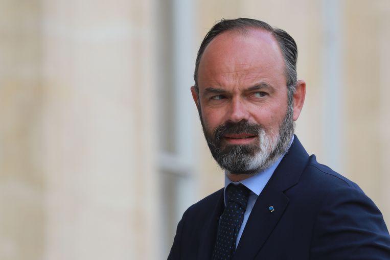 Premier Édouard Philippe.  Beeld AFP