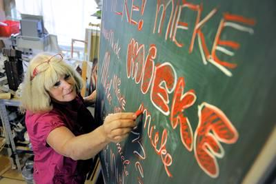 Gouden K voor kunstenares Mieke van Zundert