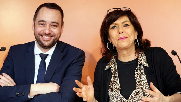Maxime Prévot et Joëlle Milquet
