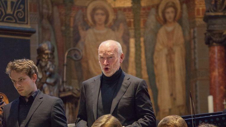 Tom Sol: 'De Matthäus Passion is zo'n rijk stuk, er zitten zoveel aspecten aan de Christus-rol, dat je er nooit op uitgeleerd raakt'. Beeld Maartje Geels