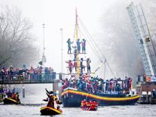Van wie is de boot waarmee Sinterklaas in Delft aankomt?