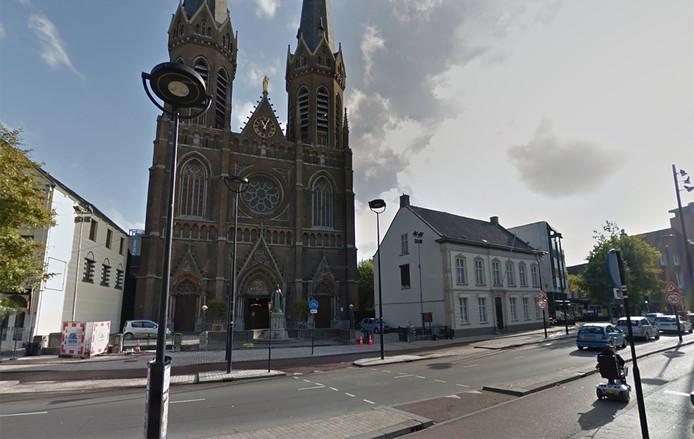 De St. Jozefkerk in Tilburg.