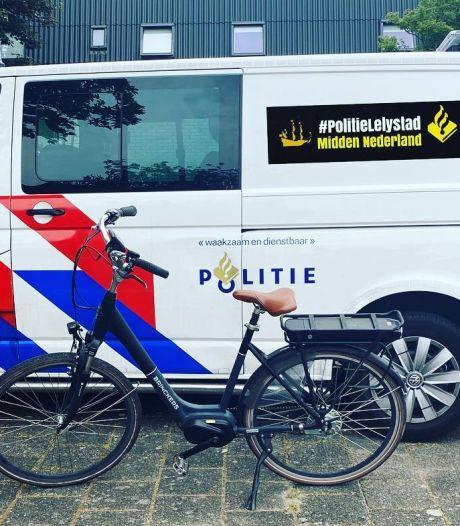 Gestolen e-bike na jaar weer terug bij eigenaar in Lelystad