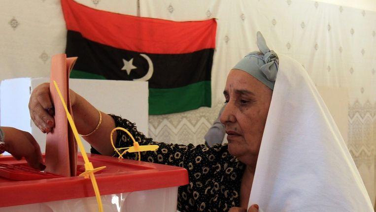 Op 7 juli trokken 2,7 miljoen Libiërs naar de stembus