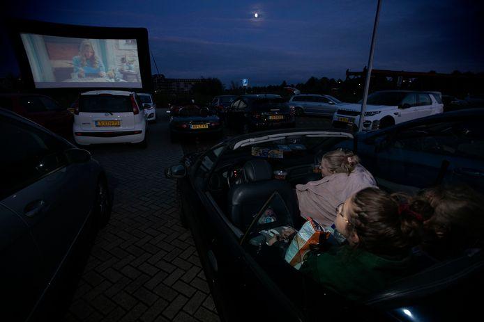 Drive in bioscoop in Helmond.