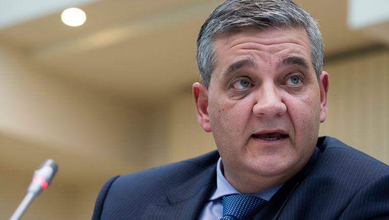 Steven Vandeput, minister van Defensie.