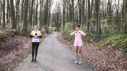 """Elke en Lindsay stippelen vijf coronavrije loop- en wandelroutes uit: """"Parken gesloten? Er is nog genoeg vrije natuur om te sporten"""""""