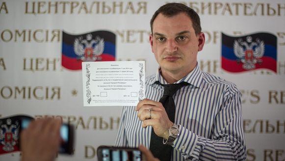 Roman Ljagin, de organisator van de volksstemming, maakte gisteren bekend dat in en rond de stad Donetsk 1527 stemlokalen zijn ingericht.