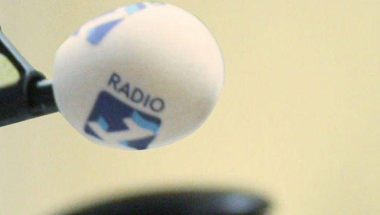 De Radio 1-microfoon Beeld NPO