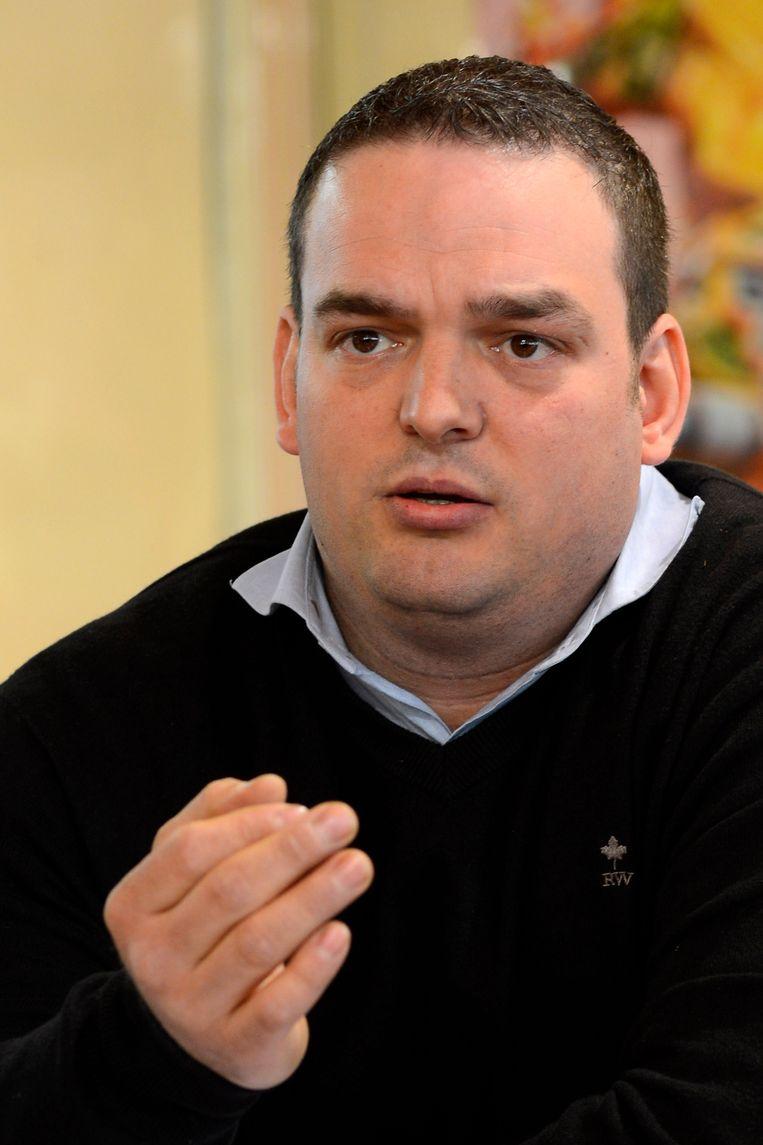 Denis Delforge, op een foto uit 2013.