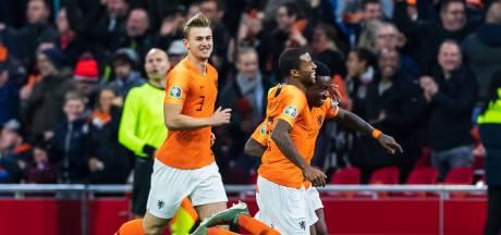Oranje maakt duidelijk statement tegen racisme bij openingsgoal Wijnaldum